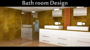 3d bathroom designer bathroom design in 3d max part01 youtube