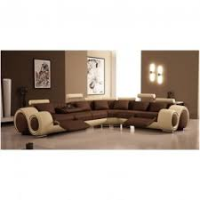 Eli Cocoa Reclining Sofa Sectionals With Recliners Foter