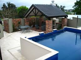 Outside Kitchen Ideas Outdoor Kitchen Designs Swimming Pool Cabana Plans Swimming Pool