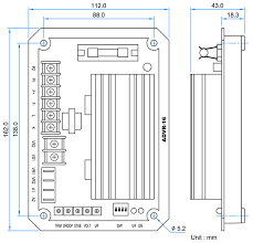 analog digital 16 amp voltage regulator for parallel operation