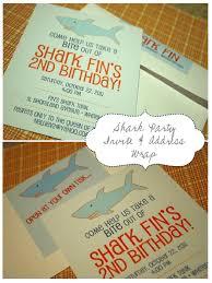 nellie design fridays with fin shark birthday party
