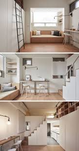 loft living ideas this small loft apartment is designed to include everything they