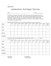 tally mark worksheets activity shelter