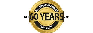 celebrating 60 years w g tomko inc we are celebrating 60 years of business