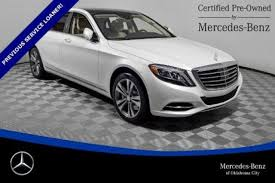 mercedes oklahoma city used 2017 mercedes s class for sale in oklahoma city ok
