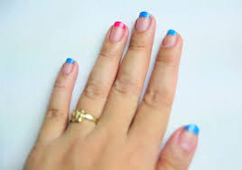 how to color block your nails 11 steps with pictures wikihow