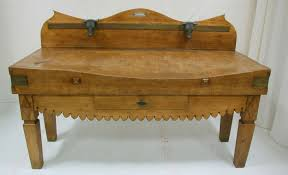 antique french butcher table 19th century french butcher block table from a unique collection