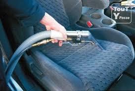 nettoyer siege voiture vapeur l interieur du vehicule