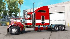 2014 kenworth w900 red on the truck kenworth w900 for american truck simulator