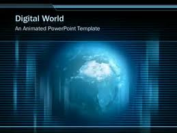 templates powerpoint earth blue glossy earth a powerpoint template from presentermedia com