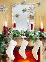 Images Of Mantels Decorated For Christmas Gorgeous Fireplace Mantel Christmas Decoration Ideas Family