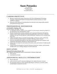 Business Analyst Resume Objective Essay Human Right Sceptical College Student Internship Resume