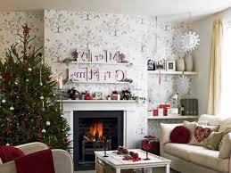 living room denim blue and cream christmas living room 2016 155