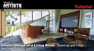 sketchup and v ray sketchup 3d rendering tutorials by