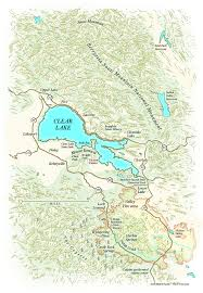 Castle Rock State Park Map by Lake County U0027s Distinctive Geology Gives Science Tours Allure Sfgate