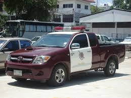 police truck old police trucks description thai police car hilux jpg trains