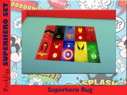 Superhero Rug Sims 4 Downloads U0027superhero U0027