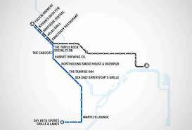 Light Rail Map Minneapolis Twin Cities Light Rail Map Map With Bars Near Every Stop Thrillist