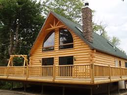 log cabin homes with wrap around porch webshoz com