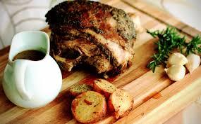 slow roast leg of lamb with garlic rosemary paprika rub sustenance