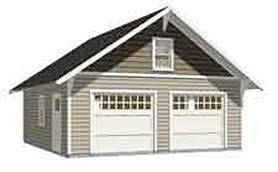 craftsman style garage plans garage plans 2 car craftsman style garage plan 576 14 24 x