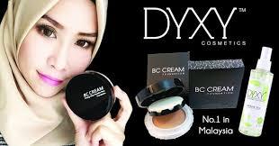 Bedak Skin Malaysia dyxy cosmetic kulit flawless glowing mowing tanpa bedak kedai