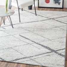 Grey Area Rugs White And Gray Rug Roselawnlutheran