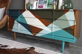 furniture awesome painted mid century furniture home decor color