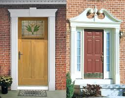 front doors winsome replacing front door frame for modern home