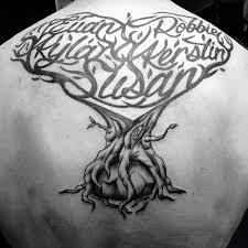 family tree tattoos for and tatting