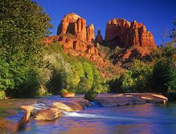 Cathedral Rock Reflections At Sunset Red Rock Crossing Sedona Photographs Fine Art America