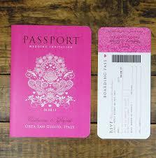 passport wedding invitation template free orax info