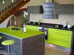 cuisine vert anis meuble cuisine vert anis