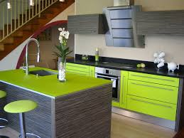 meuble cuisine vert anis meuble cuisine vert anis