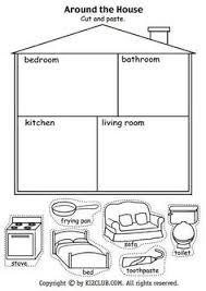 parts of house worksheets pesquisa google coisas para usar