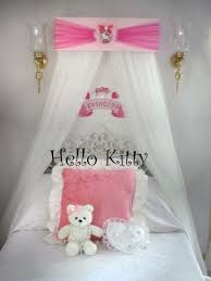 Bed Crown Canopy Hello Kitty Princess Bed Crown Canopy Add Your Own Sheers