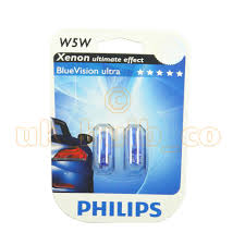 12v 5w philips side light bulbs for vauxhall astra twintop blue