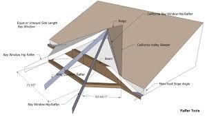 Hip Roof Measurements Roof Framing Geometry September 2013
