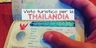 consolati thailandesi in italia come richiedere il visto per la thailandia