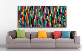home decor with paintings by artist michael lønfeldt
