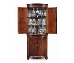 Corner Cabinets Dining Room by Mahogany Curved Corner Drinks Cabinet