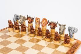 merry unique chess pieces creative design big five chess set kumbula