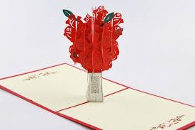 Tree Pop Up Tree Pop Up Card 3d Kirigami Card Handmade Greeting