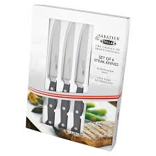 stellar kitchen knives stellar sabatier set of 6 steak knives harts of stur