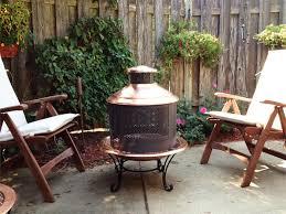 best outdoor chiminea outdoor furniture decorating the garden