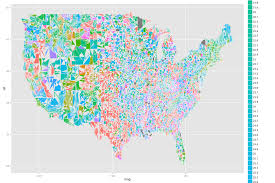 Ohio Map By County by Ggplot2 Ggplot Mapping Us Counties U2014 Problems With Visualization