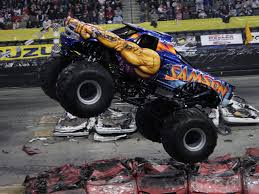 samson monster truck merchandise shirts radio interviews tv