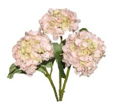 silk hydrangea silk pink hydrangea flowers your own bouquet pyob flowers