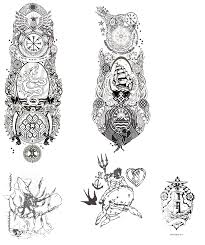 full sleeves sailor tattoo designs by kara alvama on deviantart