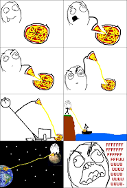 Comic Memes - meme comics pizza wenn ich pizza esse fu bilder englische